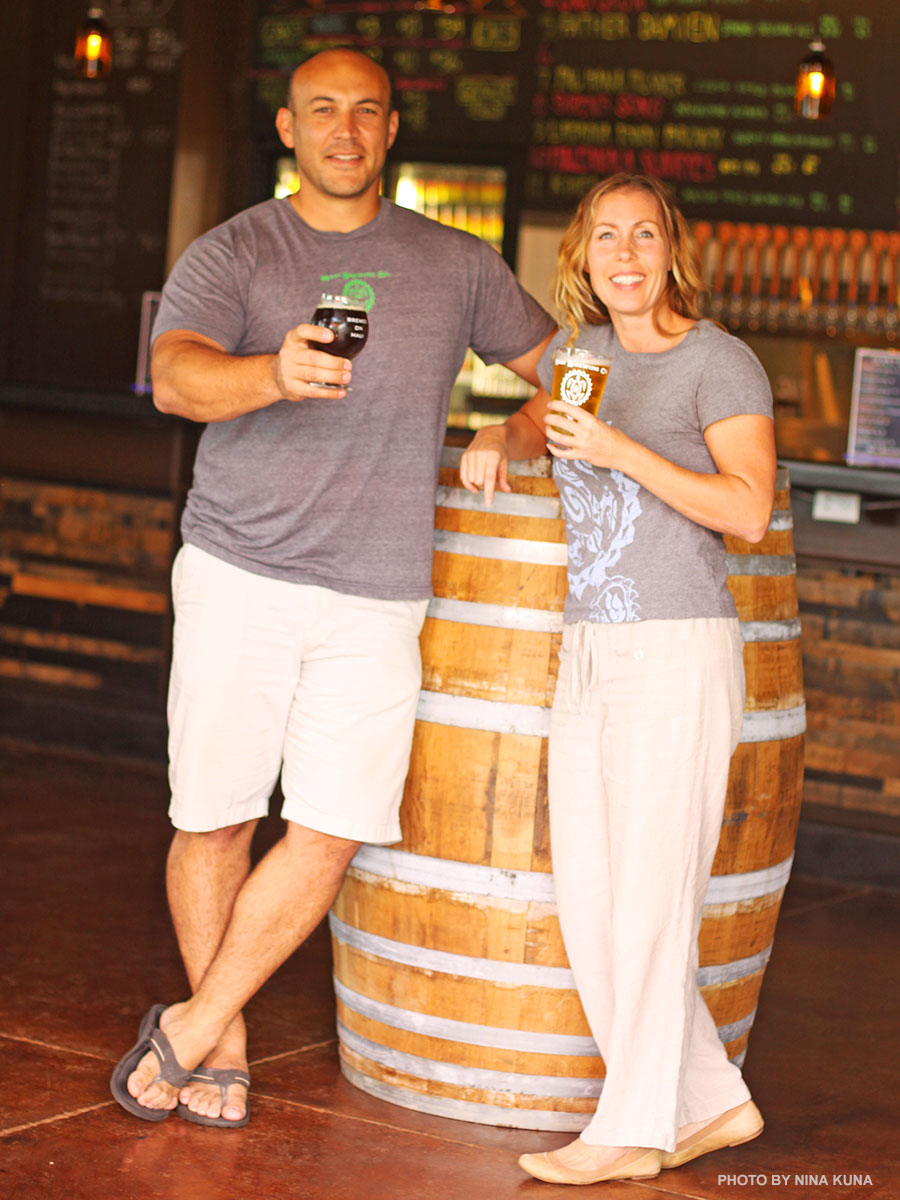 Maui brewing company founders