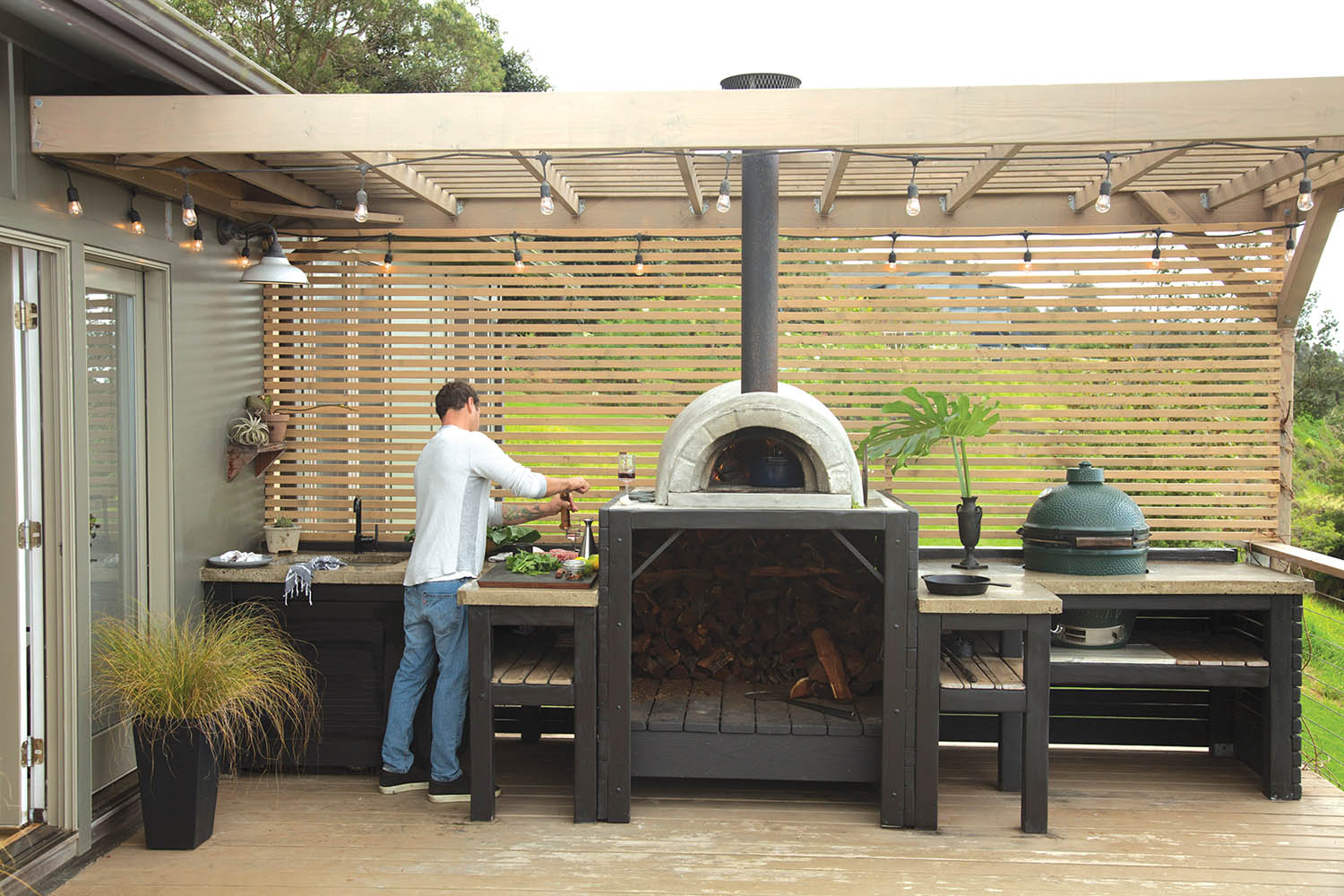 Maui outdoor kitchens