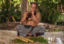 Hawaiian nose flute