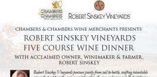 Sinskey wine dinner