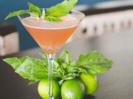 basil cocktail