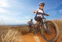 mountain biking Maui