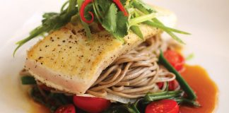 Wailea fish dinner