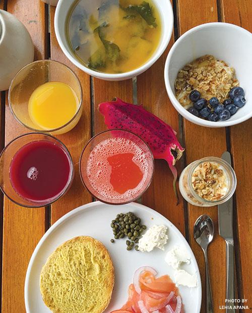 Ka'ana Kitchen breakfast