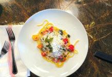 Pohole Pancetta and Roasted Tomato Pasta