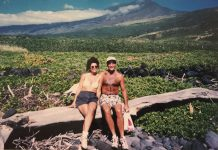 Couple in Kaupo Maui