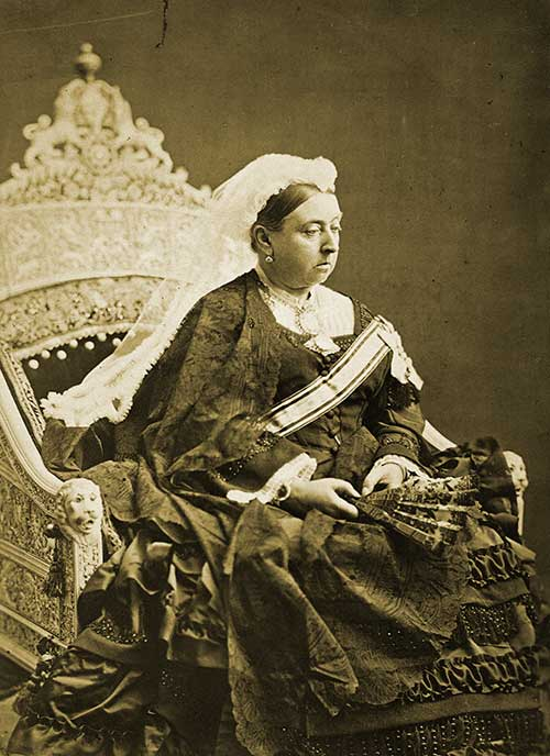 Queen Victoria Mourning Dress