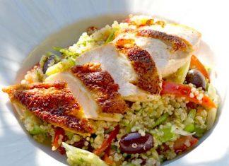 quinoa salad dressing