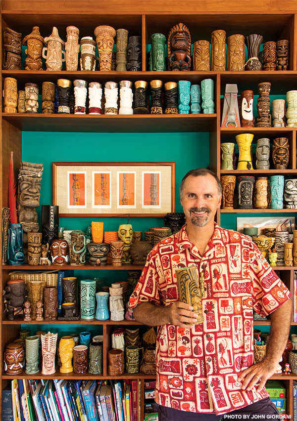 Rob Hawes tiki collection