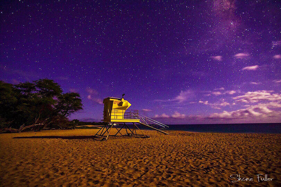 Maui night photo