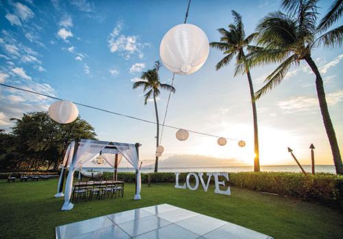 Sheraton Maui Weddings