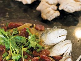 steamed moi lup cheong
