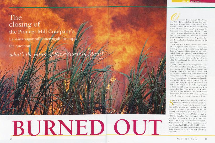 maui sugarcane history