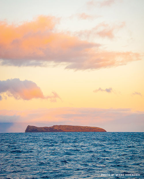 molokini crater sunrise