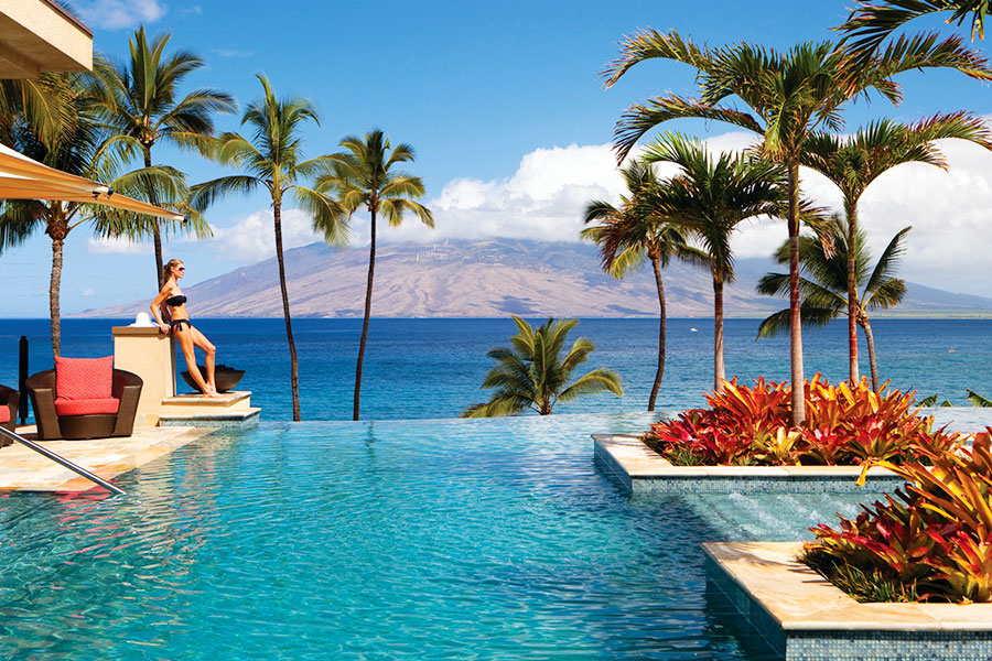Grand WaileaFour Seasons Maui resort swimming pool