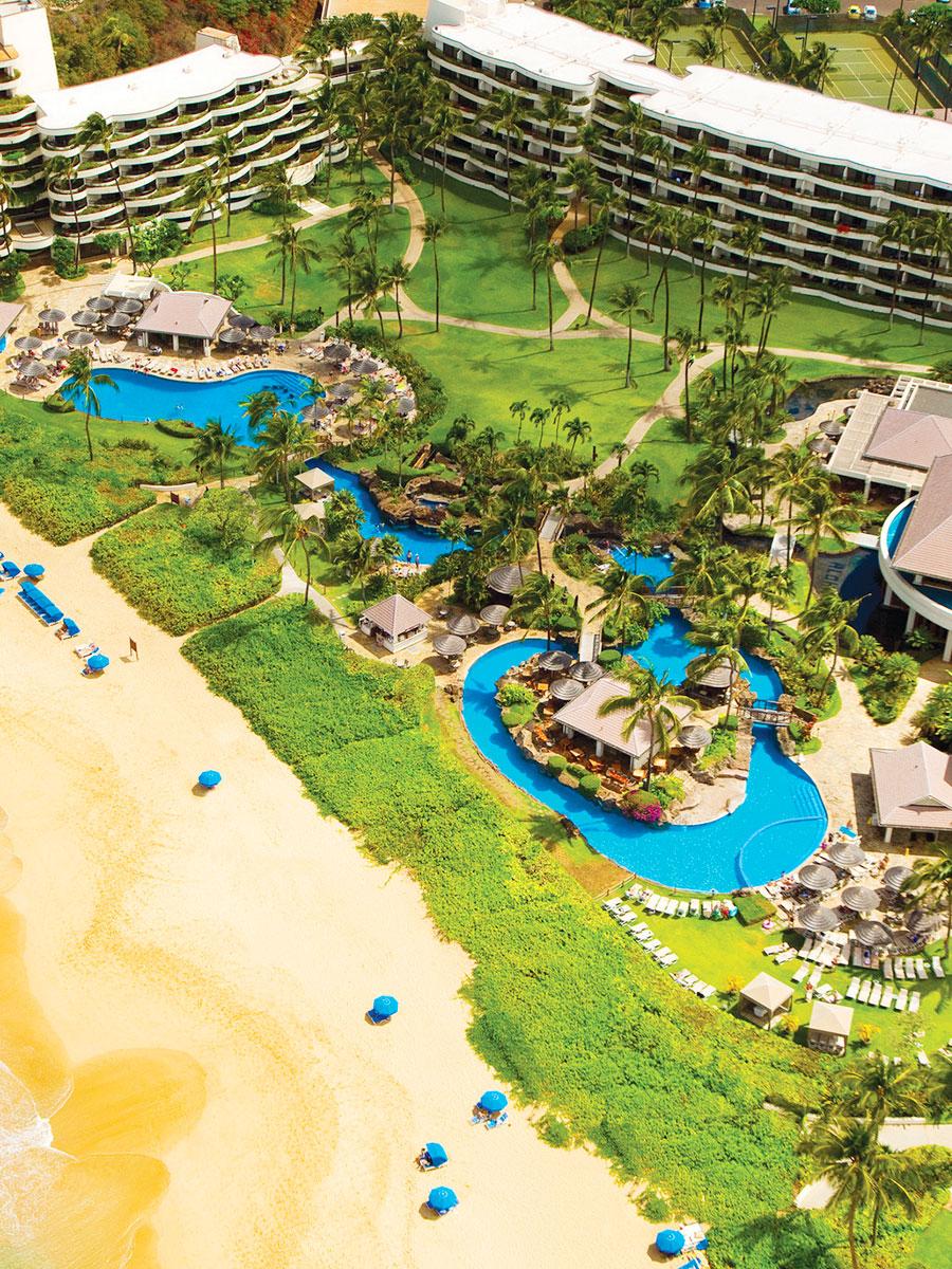 Sheraton Grand Wailea Maui resort swimming pool