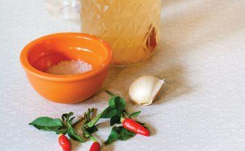 chili pepper water