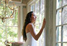 Tamara Catz wedding dress Maui