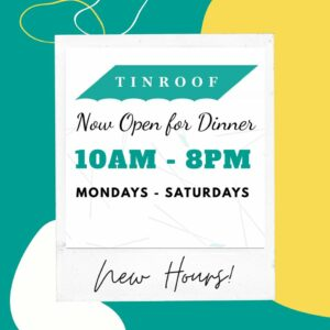 Tin Roof Maui Dinner Hours 2020