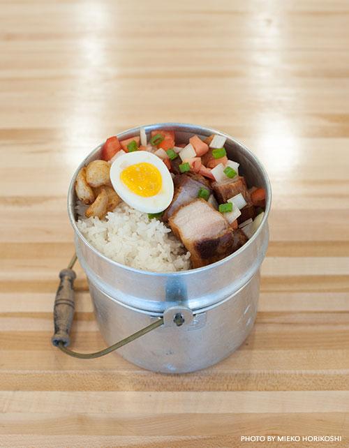 Tin Roof Pork bowl