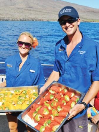 Trilogy sailing food