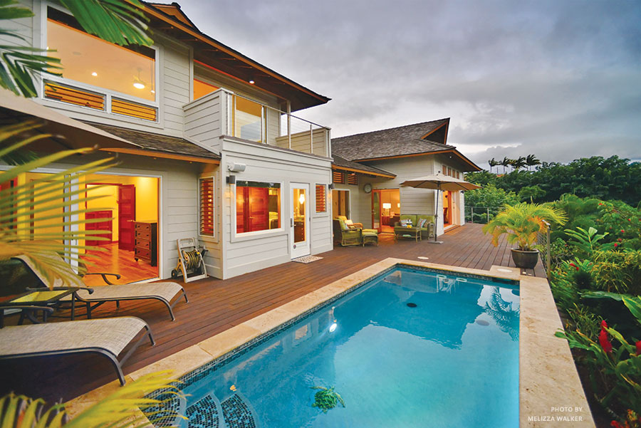 tropical bali style home