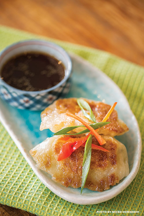 lobster potstickers recipe