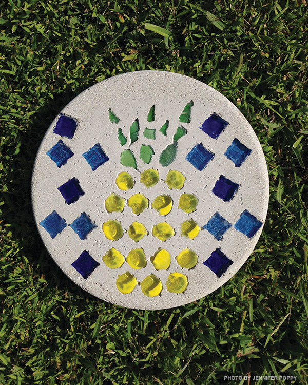 DIY stepping stone project