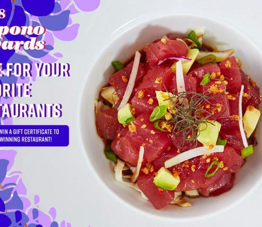 Vote for Maui Best Restaurants 2018