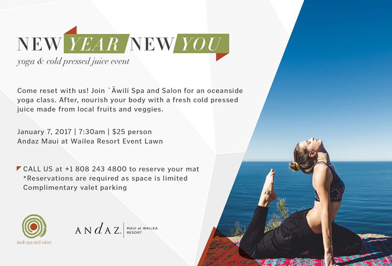 New Year You Yoga Event