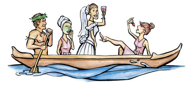 bachelorette party maui