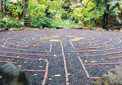 maui sacred garden labyrinth