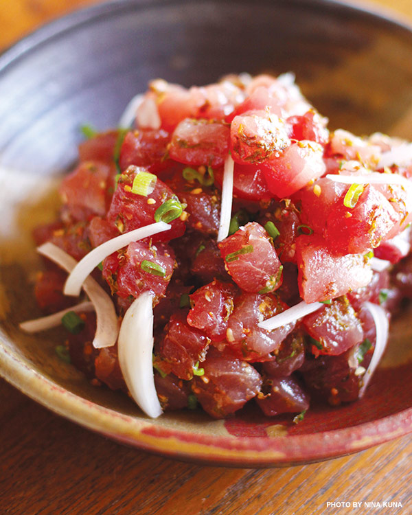 best ahi poke recipe