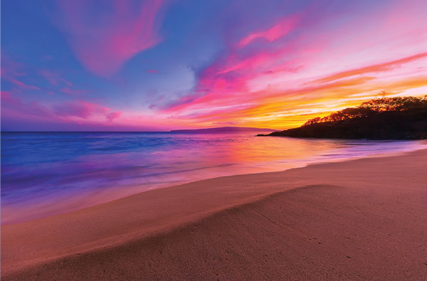 best beach sunsets Hawaii