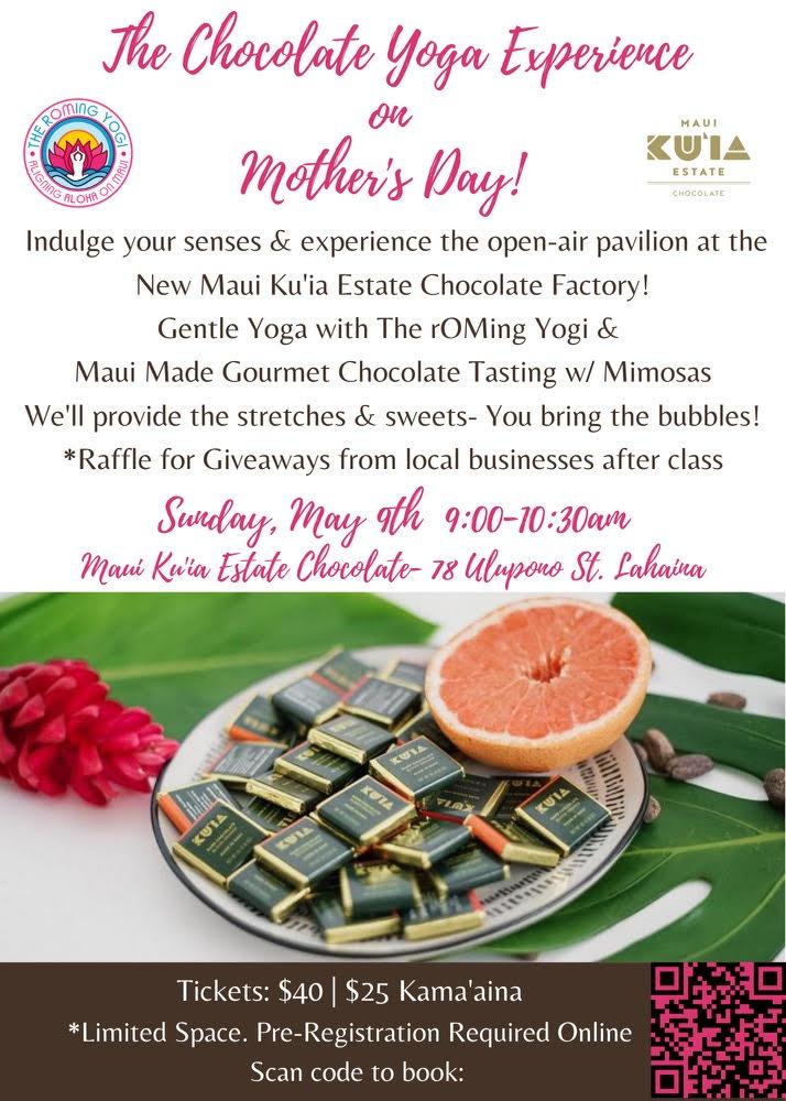 chocolate yoga mothers day