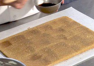 coffee genoise cake