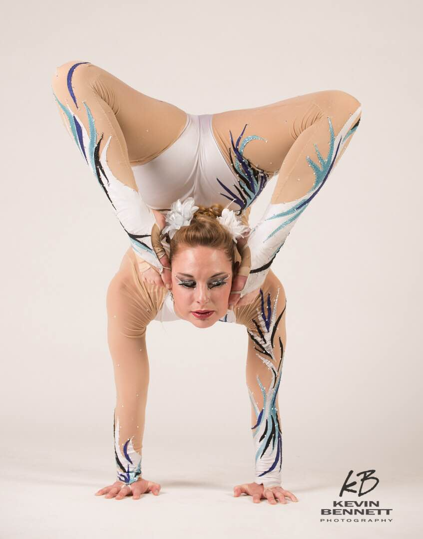 contortion hot female video