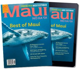 maui travel magazine