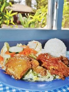 Blue Ginger food on Lānaʻi