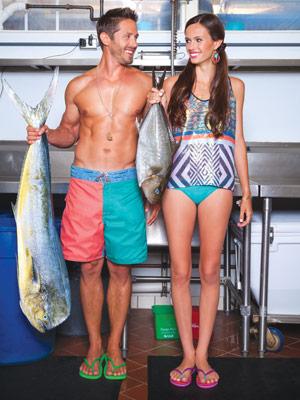 fashion at Mama's Fish House on Maui