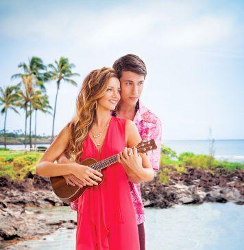 island fashion red dress