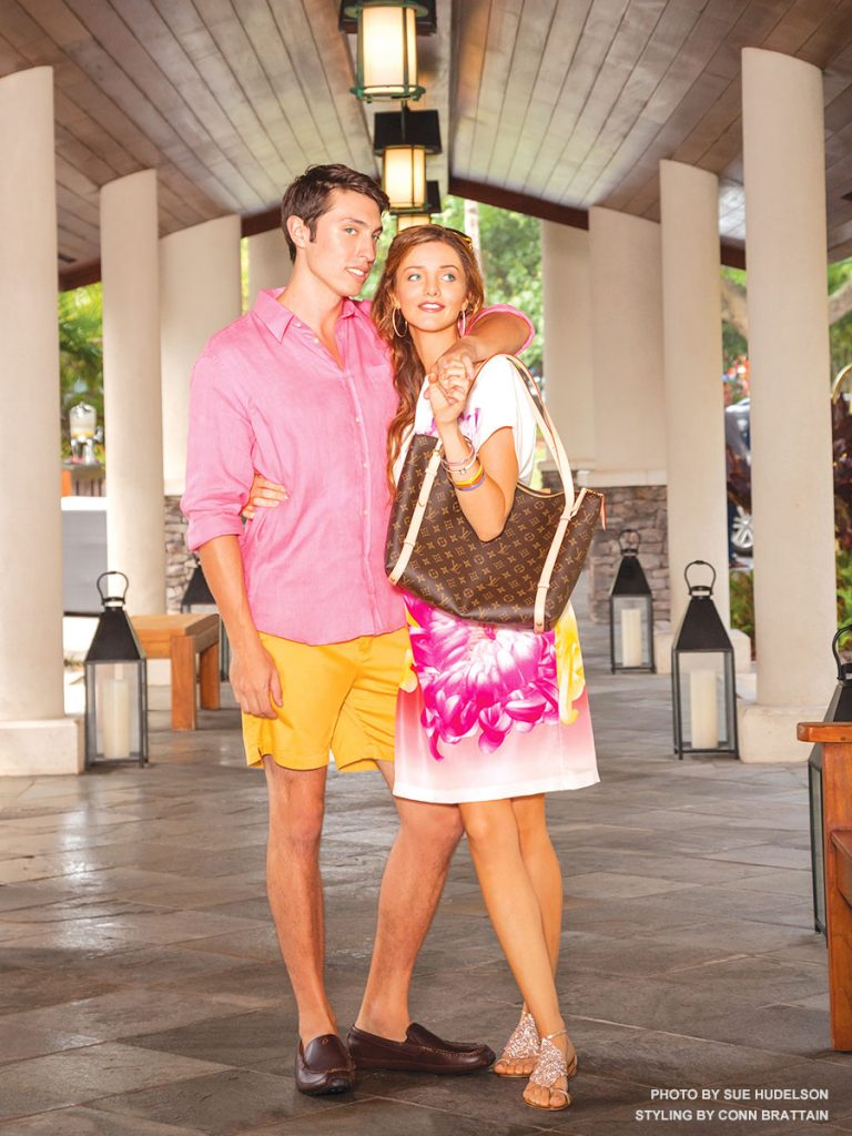Maui fashion at Montage Kapalua Bay