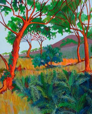 Maui painter Ed Lane