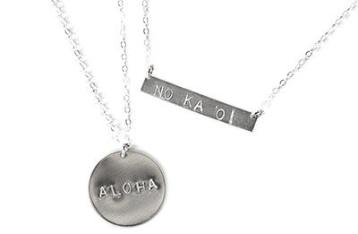 sterling silver word jewelry