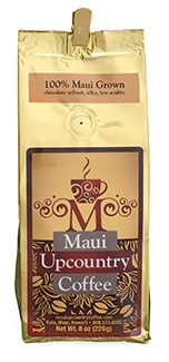 Maui upcountry coffee