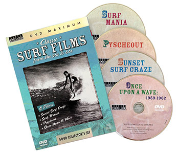 surf films dvd set