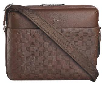 Louis Vuitton brown mens bag