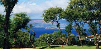 old blue wailea golf