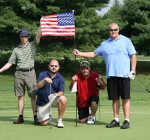 golfing fundraiser for soldiers