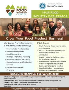 Grow your food product business